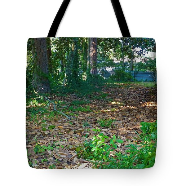 The Path Less Travelled Tote Bag