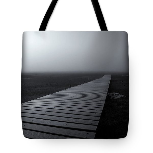 The Path Tote Bag by Mike  Dawson