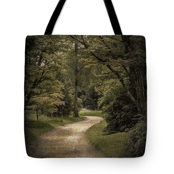 Tote Bag featuring the photograph The Path by Ryan Photography