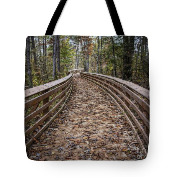 The Path That Leads Tote Bag