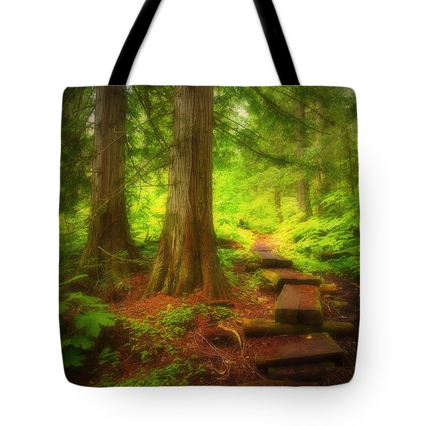 The Path Through The Forest Tote Bag