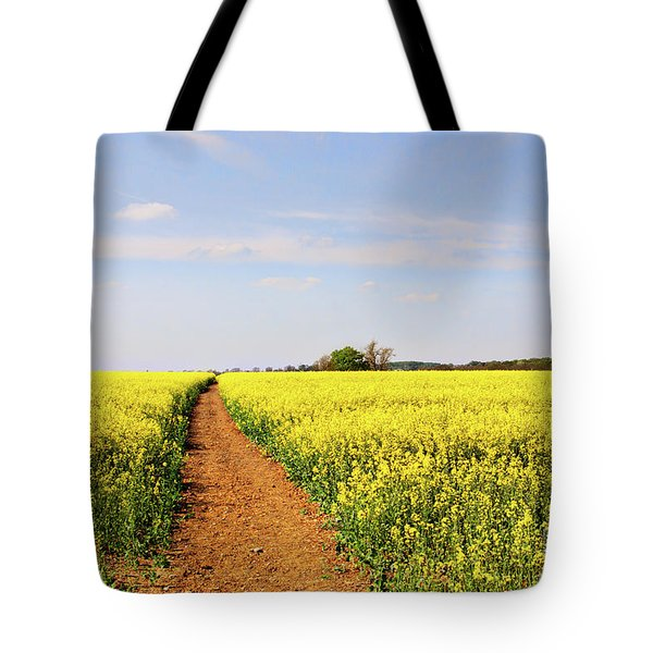 The Path To Bosworth Field Tote Bag