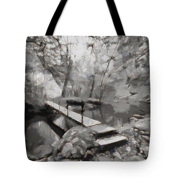 The Path To Nirvana Tote Bag