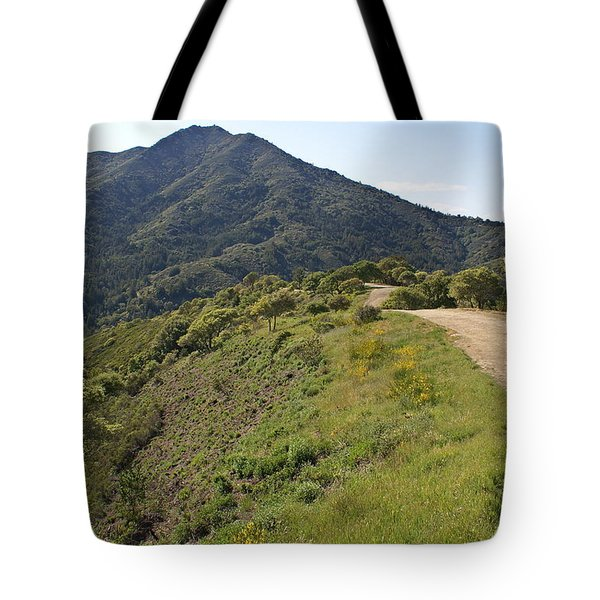 The Path To Tamalpais Tote Bag