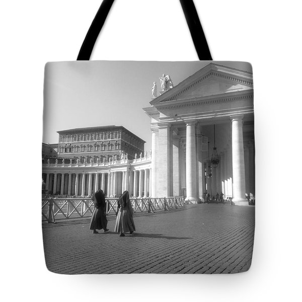 The Path To Temple Tote Bag