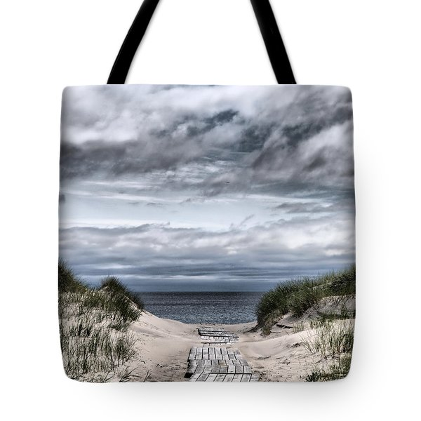 The Path To The Beach Tote Bag by Jouko Lehto