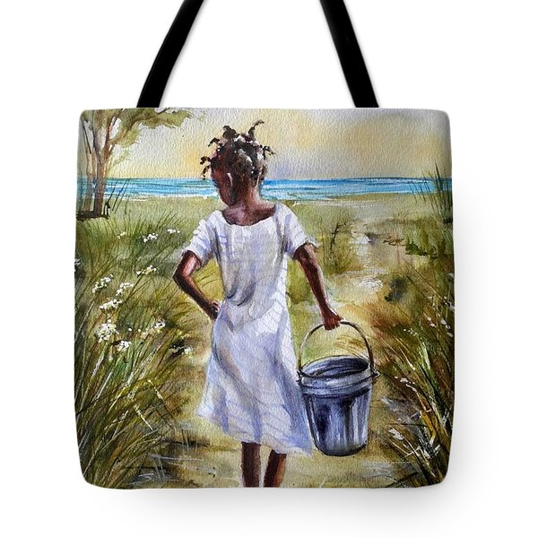 The Path To The Sea Tote Bag