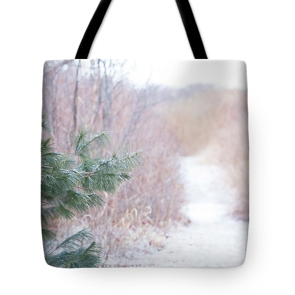 The Path Untraveled  Tote Bag