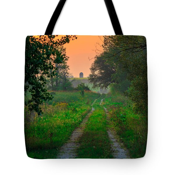 The Path We Follow Tote Bag