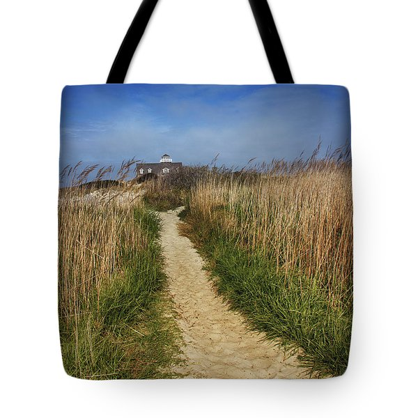 The Pathway Home Tote Bag by Tom Gari Gallery-Three-Photography
