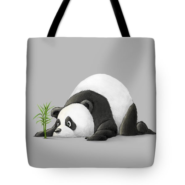 The Patient Panda Tote Bag