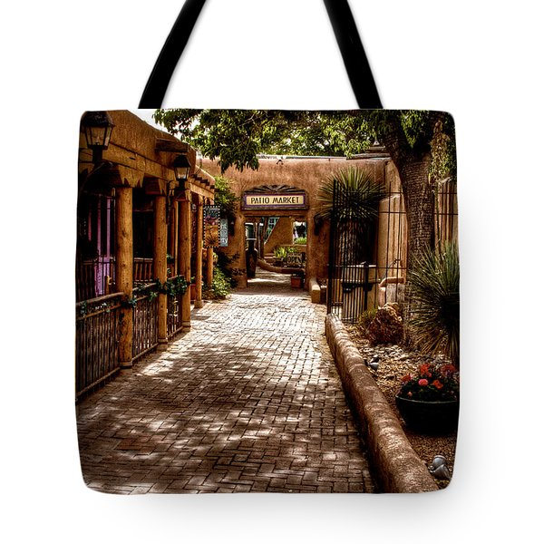 The Patio Market Tote Bag by David Patterson