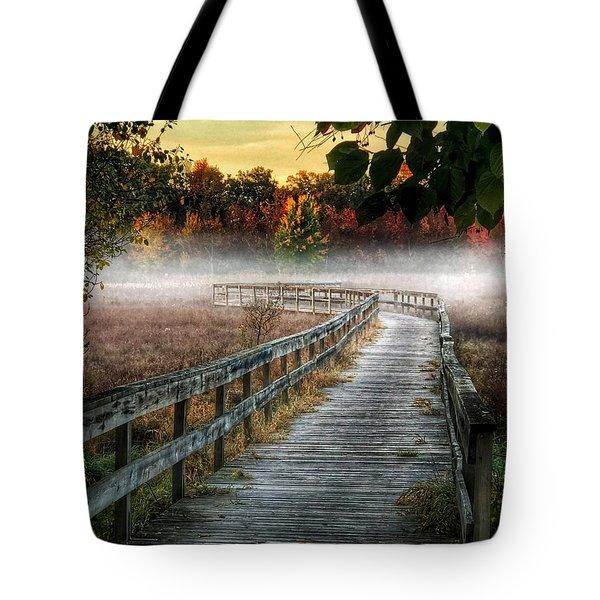 The Peaceful Path Tote Bag