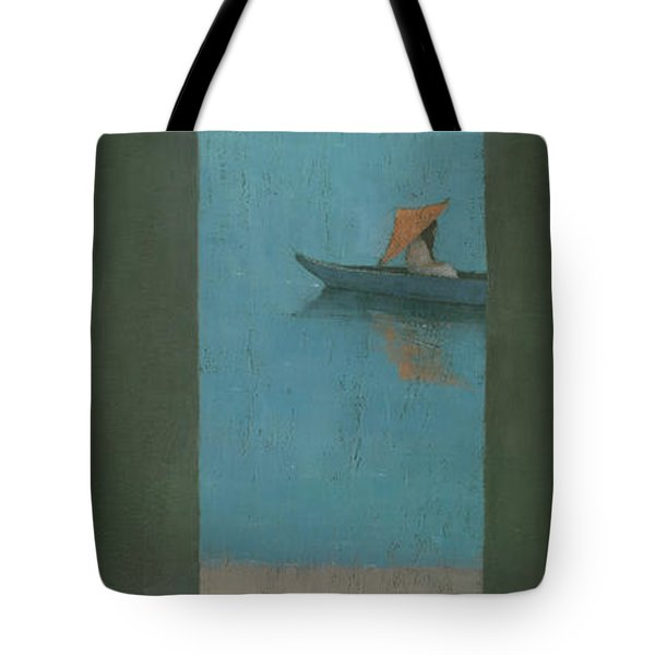 The Peach Parasol Tote Bag