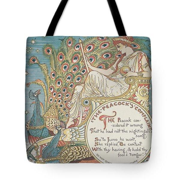The Peacocks Complaint Tote Bag