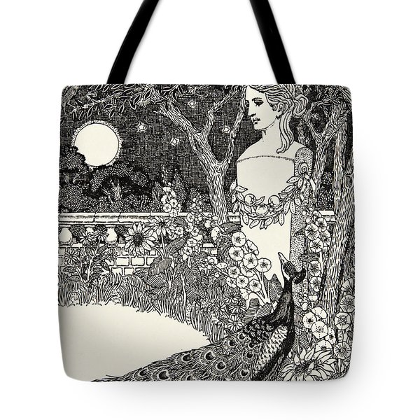 The Peacock's Complaint Tote Bag