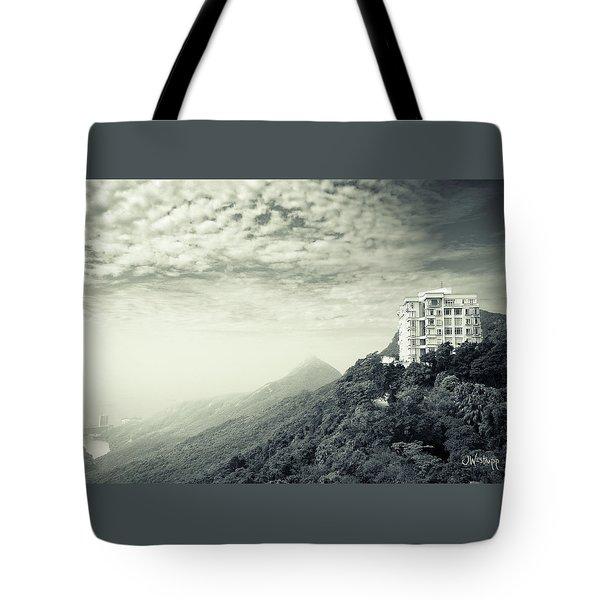 The Peak Tote Bag by Joseph Westrupp