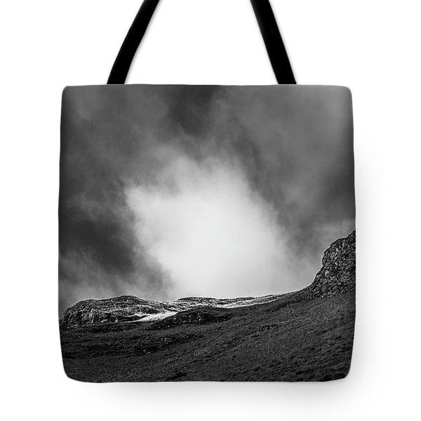 The Peak Tree Tote Bag