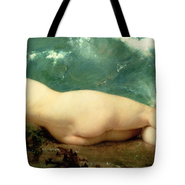 The Pearl And The Wave Tote Bag by Paul Baudry