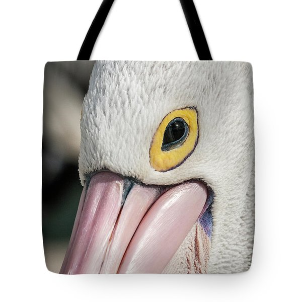 The Pelican Look Tote Bag by Werner Padarin