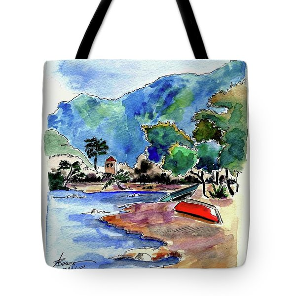 The Peloponnese Tote Bag
