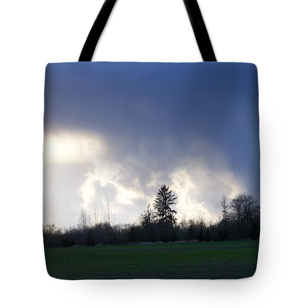 The Pending Storm Tote Bag by Laurie Kidd