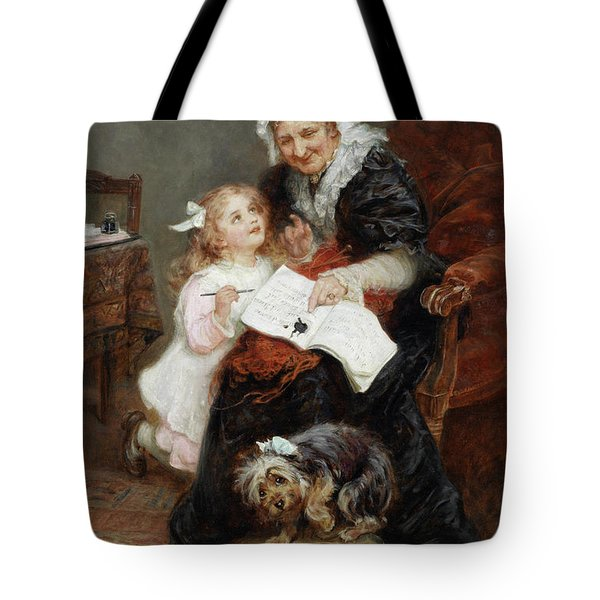 The Penitent Puppy Tote Bag by Fred Morgan