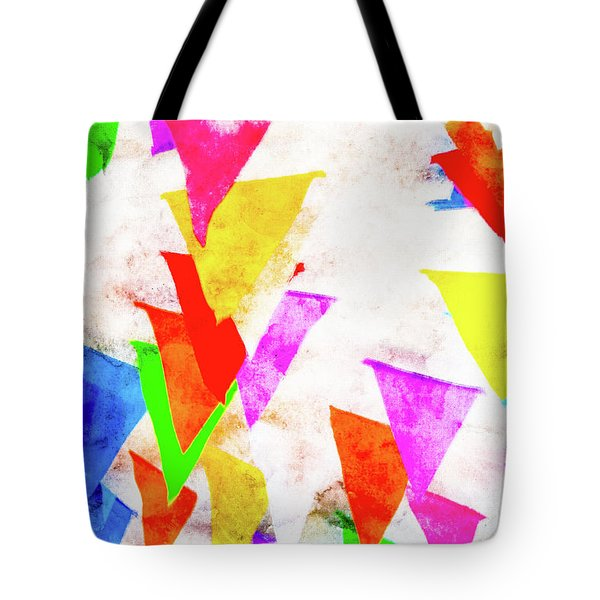 The Pennants At Mango Cafe Tote Bag