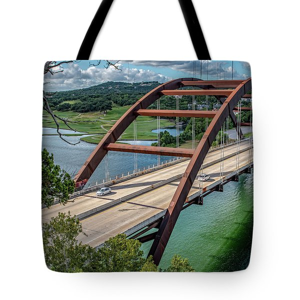 The Pennybacker Bridge Tote Bag