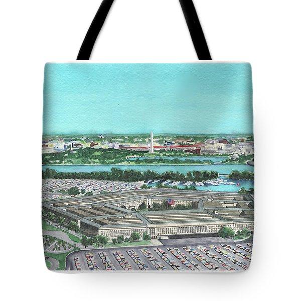 The Pentagon Tote Bag
