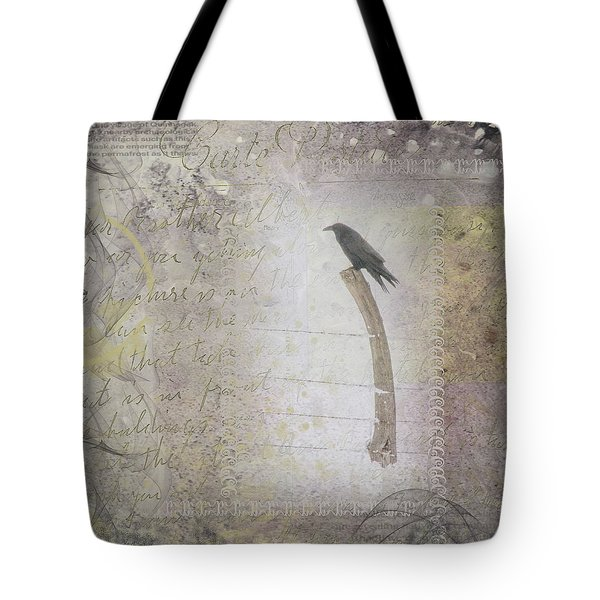 The Perch Tote Bag by Nadine Berg