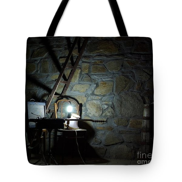 Tote Bag featuring the photograph The Perfect Place For Music by AmaS Art