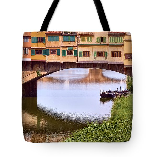 The Perfect Place To Park Your Boat Tote Bag