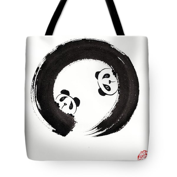The Perfectly Imperfect Pair Tote Bag by Oiyee At Oystudio