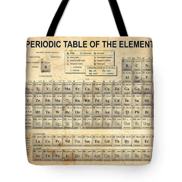 The Periodic Table Tote Bag