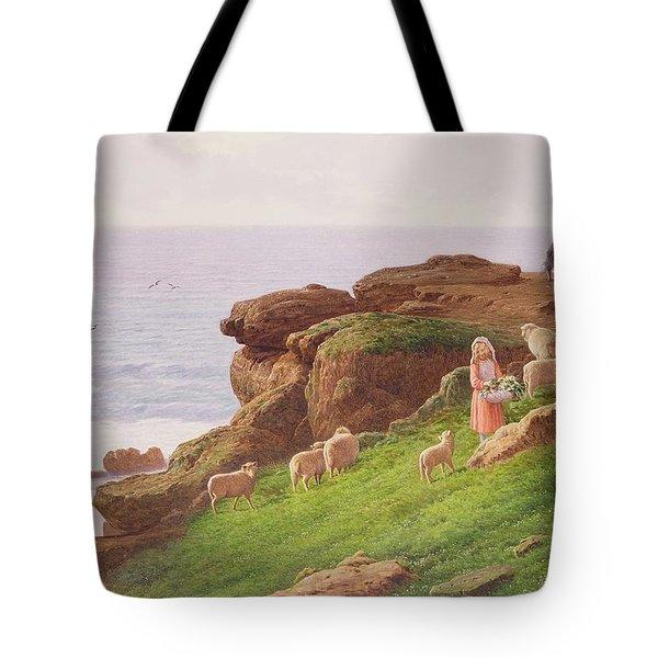 The Pet Lamb Tote Bag by J Hardwicke Lewis