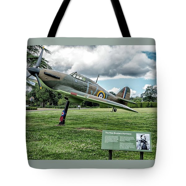 The Pete Brothers Hurricane Tote Bag by Alan Toepfer