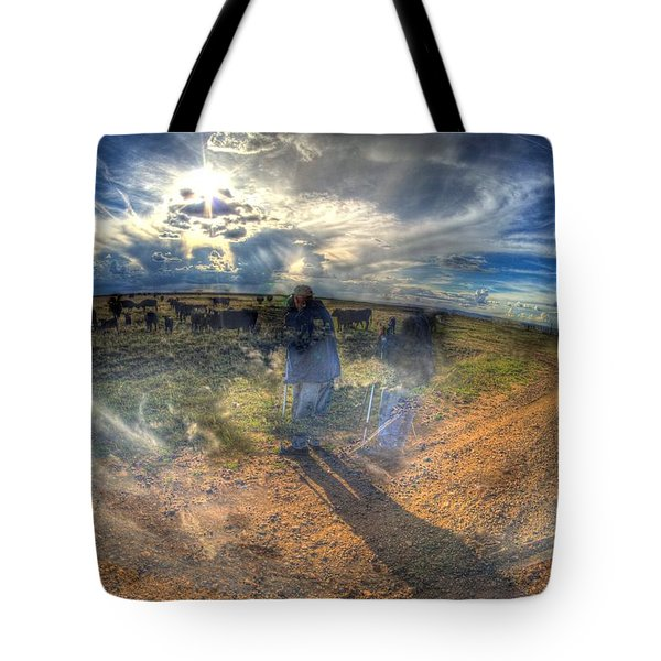 The Photographer Tote Bag by Aliceann Carlton