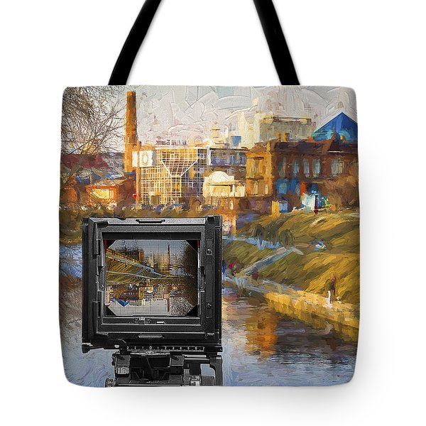 The Photographer's Way Of Seeng Tote Bag