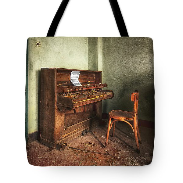 The Piano Tote Bag