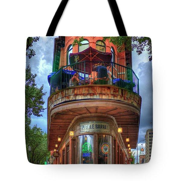 The Pickle Barrel Chattanooga Tn Art Tote Bag