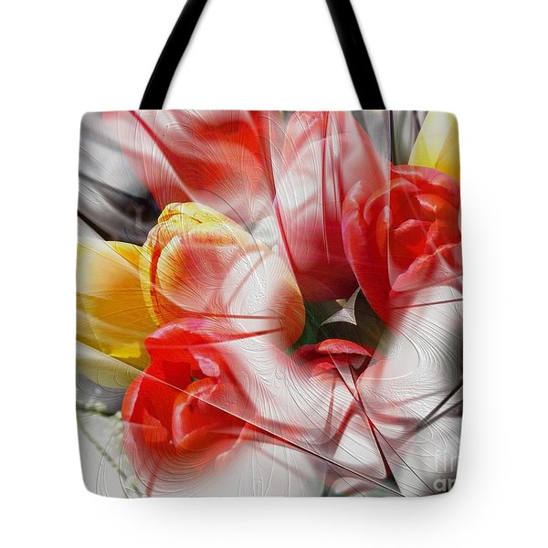 The Picture Behind The Fractal -16- Tote Bag