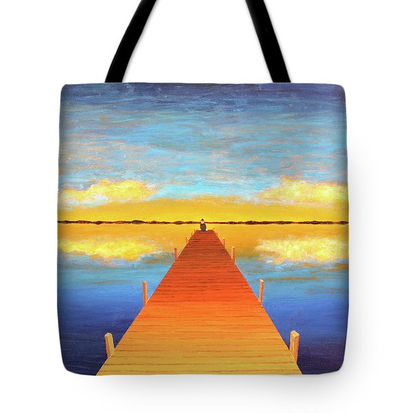 The Pier Tote Bag by Thomas Blood