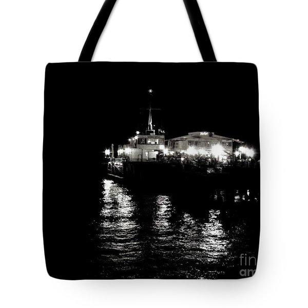 The Pier Tote Bag by Vanessa Palomino