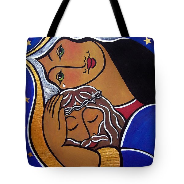 The Pieta Tote Bag
