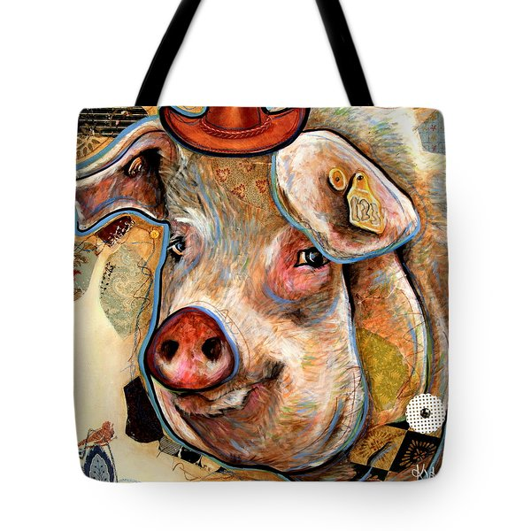 The Pig Tote Bag