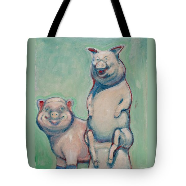 The Pigs Tote Bag