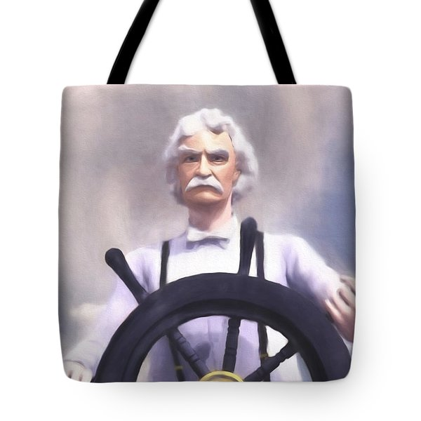 The Pilot Tote Bag by Dave Luebbert