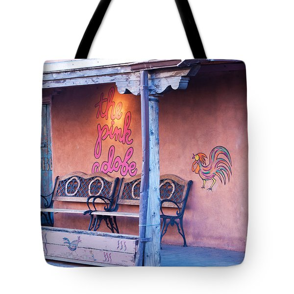 The Pink Adobe Tote Bag