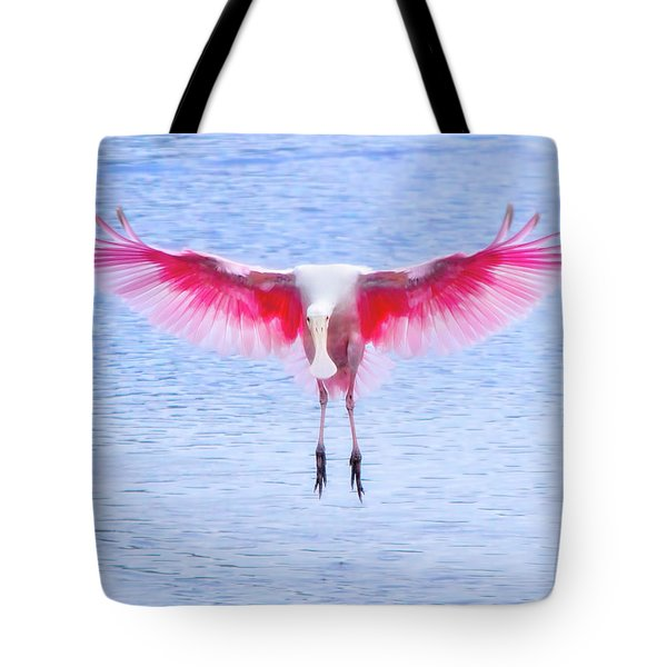 The Pink Angel Tote Bag